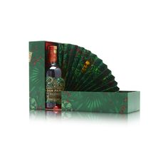 Check out our pack for Don Papa Masskara! It features a removable fan that opens with the pack, mimicking the look of a peacock's tail. GPA Luxury Packaging Luxury Packaging, Packaging Design, Don Papa, Packaging Solutions, Bottle Packaging, Bottle Design, Box Design, Alcohol, Packing