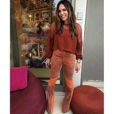 calça de couro lilly sarti - Pesquisa Google