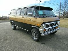 on ebay right now 3-10-14! What a sweet van man! Ford Trucks, Uber, Cars Motorcycles, Camper, Vans, Classic, Sweet, Vehicles, Derby