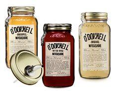 O'Donnell Moonshine - alcohol made in Germany - Neuer Style alte Tradition. Feinster Weizenbrand im Einmachglas. Bekannt aus diversen Fernsehsendungen.