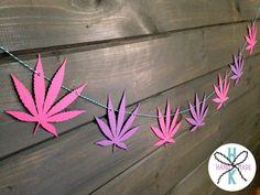 Marijuana Pot Leaf Weed Banner Wall Decor 420 by HurricaneKittyHM