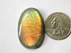 35x22 mm Oval Labradorite Cabochon Gemstone Semi Precious