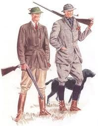 Old English hunting attire