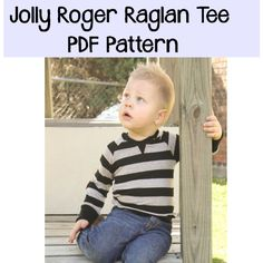 Patterns for Pirates Picture jolly roger raglan