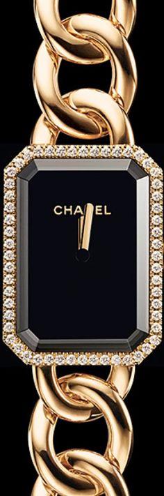 CHANEL PREMIÈRE GOLD PREMIÈRE CHAIN, SMALL SIZE watch