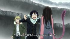 Noragami ~~ Nothing means more to Yato than the safety and health of his two dearest friends :: Episode 12