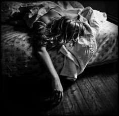 """Sleep is my lover now, my forgetting, my opiate, my oblivion."" - Audrey Niffenegger"