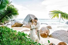 Anna and Dmitry's Intimate Seychelles Destination Wedding
