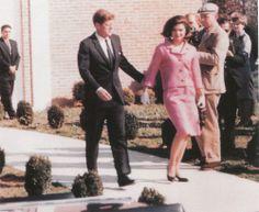 JFK and Jackie 11/10/63