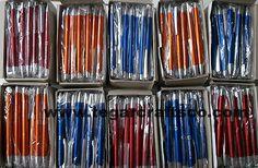 Pen PP2007, 500pieces. Sekolah BPK Penabur Secondary International School Kelapa Gading, Jakarta Indonesia. November 21, 2016
