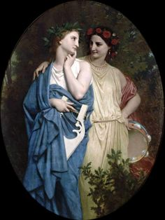 "William-Adolphe Bouguereau ""Philomela and Procne"" 1861"