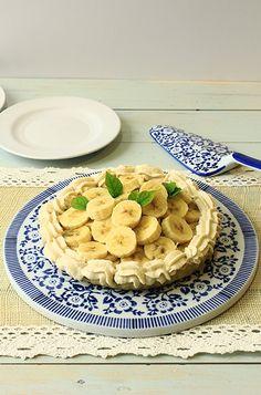 Tarta de bananas y crema/ Banana cream pie