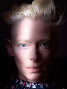 Tilda Swinton by Blommers & Schumm for Obsession Magazine.
