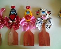 Artesanato em Biscuit: Lembrançinhas diversas