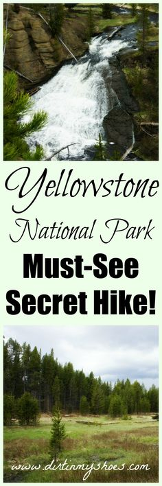 Trek Through A Serene Meadow To This Gorgeous Waterfall In Yellowstone National Park Dirt In My Shoes Yellowstone Nationalpark, Visit Yellowstone, Yellowstone Vacation, Yellowstone Park, Wyoming Vacation, Us National Parks, Grand Teton National Park, Places To See, Places To Travel