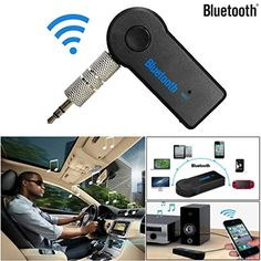 AutumnFall Details about Wireless Bluetooth 35mm AUX Audio Stereo Music Home Car Receiver Adapter Mic ** You can find out more details at the link of the image.