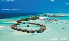 Olhuveli Beach & Spa Resort - 7 nights from £1,499 per person  http://www.caribtours.co.uk/regions/indian-ocean/maldives/olhuveli-beach-spa-resort/