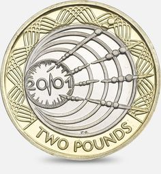 100th Anniversary of Marconi's 1st Wireless Transmission across the Atlantic - 2001 http://www.royalmint.com/discover/uk-coins/coin-design-and-specifications/two-pound-coin/2001-wireless-transmission