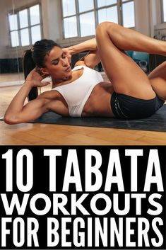Tabata workouts consist of 4 minutes of high intensity, fat-burning cardio exercises that will give you serious results. With 20 seconds of. Tabata Workouts, Easy Workouts, Hiit, At Home Workouts, Tabata Fitness, Tabata Training, Improve Mental Health, Good Mental Health, Kim Kardashian