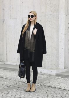 Winter Outfit Idea of Pavlína Jágrová | PIN Blogger