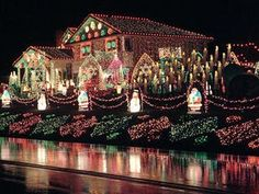 I'm going crazy with Christmas lights this year!
