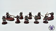 Adeptus Mechanicus: Skitarii Rangers #ChaoticColors #commissionpainting #paintingcommission #painting #miniatures #paintingminiatures #wargaming #Miniaturepainting #Tabletopgames #Wargaming #Scalemodel #Miniatures #art #creative #photooftheday #hobby #paintingwarhammer #Warhammerpainting #warhammer #wh #gamesworkshop #gw #Warhammer40k #Warhammer40000 #Wh40k #40K #Adeptusmechanicus #Mechanicus #Admech #Adeptusmechanicus #Mechanicum #SkitariiRangers Warhammer 40000, Tabletop Games, Gw, Ranger, Miniatures, Creative, Painting, Color, Board Games