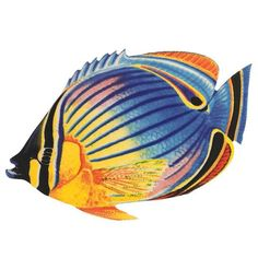PORC-RF24-5 Redfin Butterflyfish Custom Mosaics