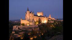 Замок Алькасар в Сеговии,Испания.