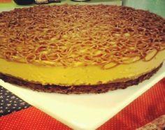 Torta de mousse de dulce de leche