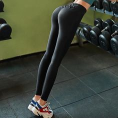 High Waist Tummy Control Tights Leggins Women Seamless Sport Leggings For Fitness Sportswear Woman Gym Yoga Pants Sports Wear Frauen Fitness Sportswear / Gym Yoga Hosen Sporthosen Sports Leggings, Tight Leggings, Women's Leggings, Leggings Are Not Pants, Printed Leggings, Cheap Leggings, Dresses With Leggings, Leggings Fashion, Tights
