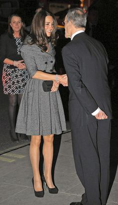 Kate Middleton Photos - Kate Middleton Leaves The Lucian Freud Portraits Private Viewing - Zimbio
