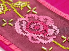 How to: Stitch with soluble canvas | The Making Spot blog
