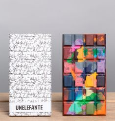 UNELEFANTE artisan chocolate bars