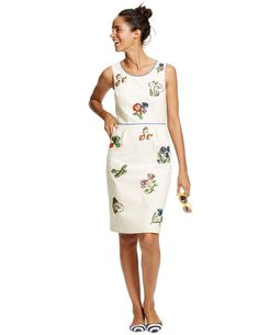 Fruity Fun Dress WH781 Day Dresses at Boden