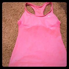 Nike Dri Fit athletic tank Brand new bubblegum pink Nike athletic tank! XS Nike Tops Tank Tops