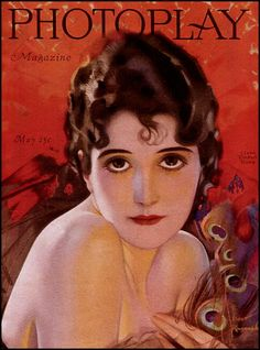 theticketthatexploded:    Rolf Armstrong — Photoplay — May, 1920  (via The Pictorial Arts: Peacock Eyes)