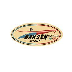 Hansen Surfboards: 1961 Cardiff, California