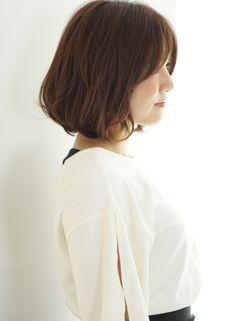 大人かわいいワンカールボブ【ZA/ZA AOYAMA】  http://www.beauty-navi.com/style/detail/60651?pint  ≪#bobhair #bobstyle #bobhairstyle #hairstyle #ボブ #ヘアスタイル #髪型 #髪形 ≫