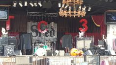 Stage of The Shed. Favorite concert venue in Maryville,  TN