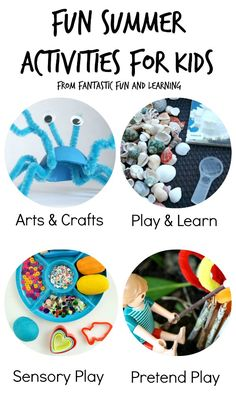 Fun Summer Activities for Kids...Summer long linky full of ideas for a memorable summer!