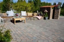 Bilderesultat for belegningsstein Outdoor Furniture Sets, Outdoor Decor, Work Surface, Modern Kitchen Design, Patio, Inspiration, Image, Home Decor, Blog