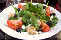 Greek Grilled Shrimp Salad #MezzettaMemories