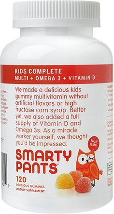 SmartyPants Vitamins for kids for easy back-to-school mornings: These gummy vitamins make taking vitamins delicious and healthy!