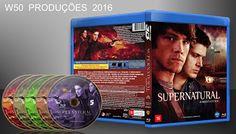 W50 produções mp3: Supernatural 3ª Temporada Completa ( blu-ray) Lanç...