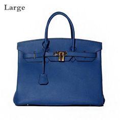 New Arrival 2016 Women Genuine Leather Platinum Lock Bag Famous Brand Designer Tote Handbags Real Leather Shoulder Bags