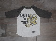 Colorado Football! Go Buffs! Kids T-shirt for CU. Buff n Tuff! $21
