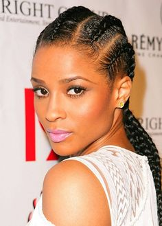 Phenomenal Cornrows Braid Hairstyles And Simple Hairstyles On Pinterest Hairstyle Inspiration Daily Dogsangcom
