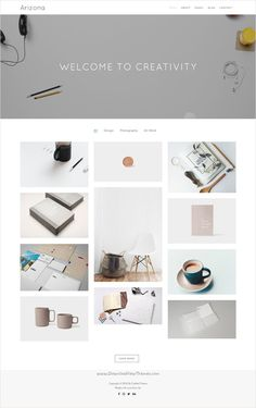 Buy Arizona - Creative Portfolio Template by CraftedTheme on ThemeForest. Arizona is high quality portfolio template which can be used for freelancers, agencies, photographers, designers and . Best Portfolio Websites, Creative Portfolio, Portfolio Design, Portfolio Site, Website Layout, Web Layout, Layout Design, Website Ideas, Ui Design
