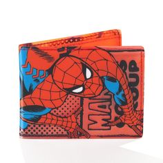 Marvel Spiderman See Thru Bi-fold Wallet Branded Wallets, Vintage Party, Amazing Spiderman, Christmas 2014, Marvel Dc Comics, Superhero, Ebay, Amazon, Ties