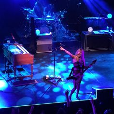 Grace Potter and the Magical Midnight Roadshow brought some incredible energy to @acllive tonight! #livemusic #gracepotter #magicalmidnightroadshow